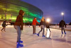 Stadion Wrocław - lodowisko otwarte