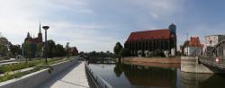 Odmieniony bulwar pomiędzy mostami Młyńskim iTumskim